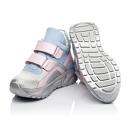 Детские демисезонные ботинки (подкладка кожа) Woopy Fashion разноцветные для девочек натуральный нубук и кожа размер 21-39 (8074) Фото 2