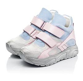 Детские демисезонные ботинки (подкладка кожа) Woopy Fashion разноцветные для девочек натуральный нубук и кожа размер 21-39 (8074) Фото 5