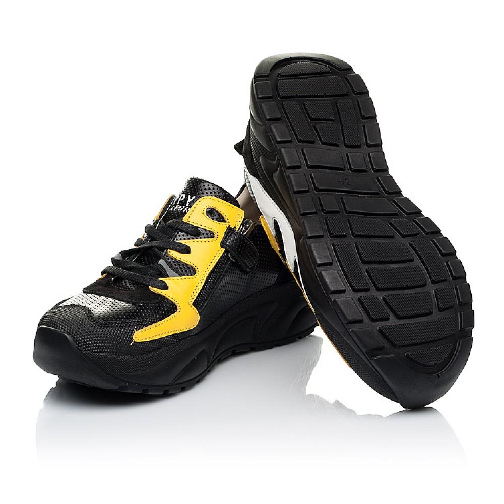 Детские кроссовки Woopy Fashion черные для девочек натуральная кожа размер 31-40 (8088) Фото 2