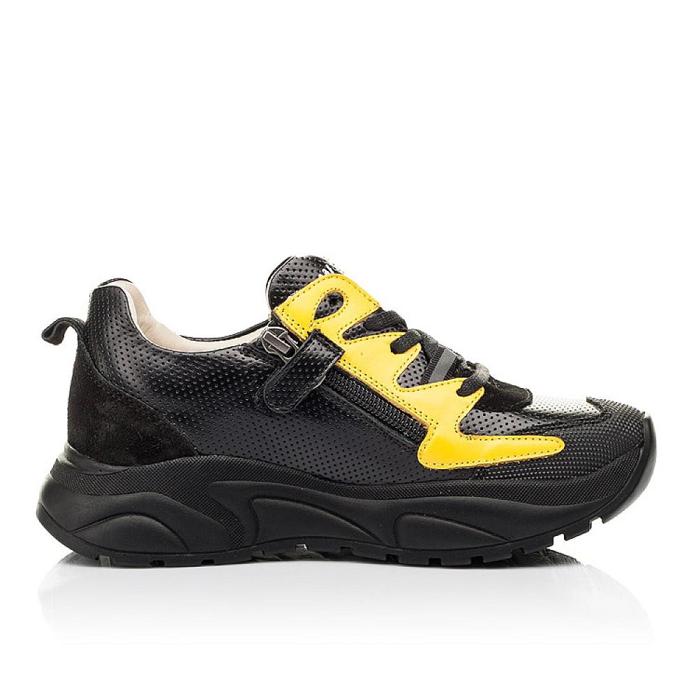 Детские кроссовки Woopy Fashion черные для девочек натуральная кожа размер 31-40 (8088) Фото 5