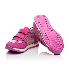 Детские кроссовки Woopy Fashion малиновые для девочек натуральный нубук размер 20-30 (8089) Фото 2
