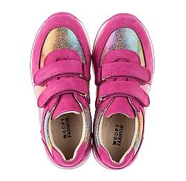 Детские кроссовки Woopy Fashion малиновые для девочек натуральный нубук размер 20-30 (8089) Фото 5