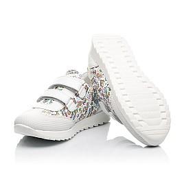 Детские кроссовки Woopy Fashion белые для девочек натуральная кожа размер 20-33 (8090) Фото 2