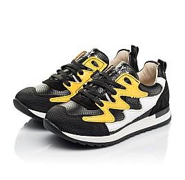 Детские кроссовки (боковая молния) Woopy Fashion черные для девочек натуральная кожа размер 23-30 (8111) Фото 3