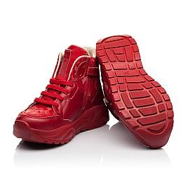 Детские демисезонные ботинки Woopy Fashion красные для девочек натуральная кожа размер 33-39 (8113) Фото 2