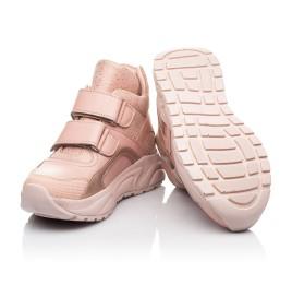 Детские демисезонные ботинки (подкладка кожа) Woopy Fashion пудровые для девочек натуральная кожа и нубук размер 21-40 (8114) Фото 2