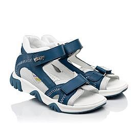 Детские босоножки Woopy Fashion синие для мальчиков натуральная кожа размер 21-40 (8121) Фото 1