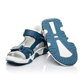 Детские босоножки Woopy Fashion синие для мальчиков натуральная кожа размер 21-40 (8121) Фото 2