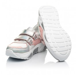 Детские кроссовки Woopy Fashion разноцветные для девочек натуральная кожа размер 21-36 (8125) Фото 2