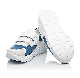 Детские кроссовки Woopy Fashion белые для девочек натуральный нубук и кожа размер 26-40 (8131) Фото 2