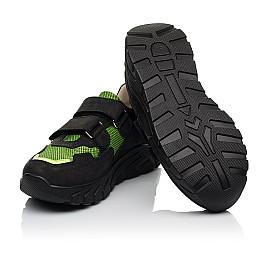 Детские кроссовки Woopy Fashion черные для мальчиков натуральный нубук и искусственный материал размер 20-36 (8133) Фото 3