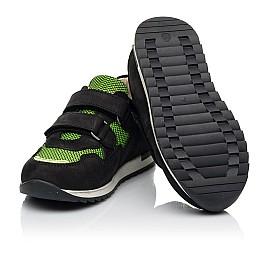 Детские кроссовки Woopy Fashion черные для мальчиков натуральный нубук и искусственный материал размер 20-36 (8133) Фото 4