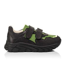Детские кроссовки Woopy Fashion черные для мальчиков натуральный нубук и искусственный материал размер 20-36 (8133) Фото 6