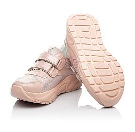 Детские кроссовки Woopy Fashion пудровые для девочек натуральный нубук и кожа размер 21-40 (8141) Фото 2
