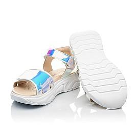 Детские босоножки Woopy Fashion серебряные для девочек современный искусственный материал размер 29-38 (8146) Фото 2