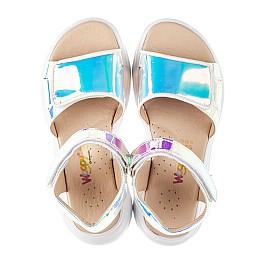 Детские босоножки Woopy Fashion серебряные для девочек современный искусственный материал размер 29-38 (8146) Фото 5