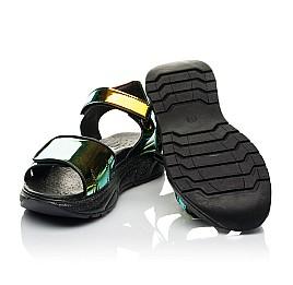 Детские босоножки Woopy Fashion черные для девочек современный искусственный материал размер 33-39 (8155) Фото 2