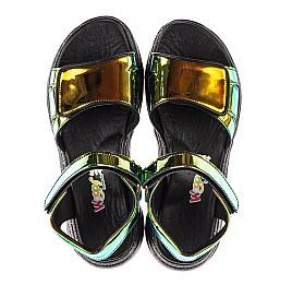Детские босоножки Woopy Fashion черные для девочек современный искусственный материал размер 33-39 (8155) Фото 5