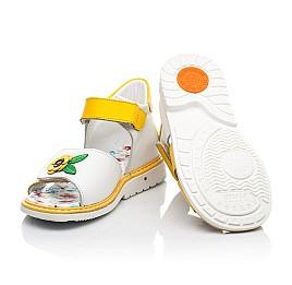Детские босоножки Woopy Orthopedic разноцветные для девочек натуральная кожа размер 23-30 (8169) Фото 2