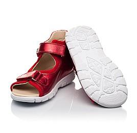 Детские босоножки Woopy Fashion красные для девочек натуральная кожа размер 23-36 (8184) Фото 2