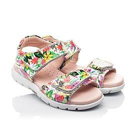 Детские босоножки Woopy Fashion разноцветные для девочек лаковая кожа размер 24-33 (8200) Фото 1