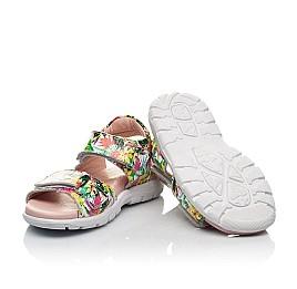 Детские босоножки Woopy Fashion разноцветные для девочек лаковая кожа размер 24-33 (8200) Фото 2