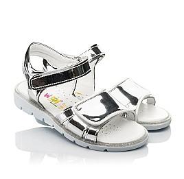 Детские босоножки Woopy Fashion серебряные для девочек современный искусственный материал размер 28-36 (8201) Фото 1