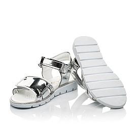 Детские босоножки Woopy Fashion серебряные для девочек современный искусственный материал размер 28-36 (8201) Фото 2