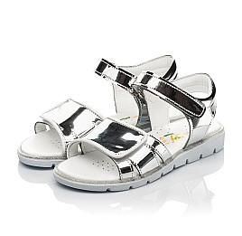 Детские босоножки Woopy Fashion серебряные для девочек современный искусственный материал размер 28-36 (8201) Фото 3