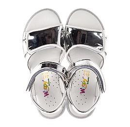 Детские босоножки Woopy Fashion серебряные для девочек современный искусственный материал размер 28-36 (8201) Фото 5