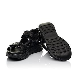 Детские босоножки Woopy Fashion черные для девочек натуральная кожа размер 33-39 (8203) Фото 2