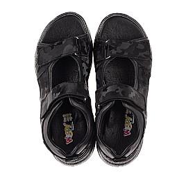 Детские босоножки Woopy Fashion черные для девочек натуральная кожа размер 33-39 (8203) Фото 5