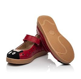 Детские туфли Woopy Fashion красные для девочек натуральная кожа размер 20-30 (8209) Фото 2