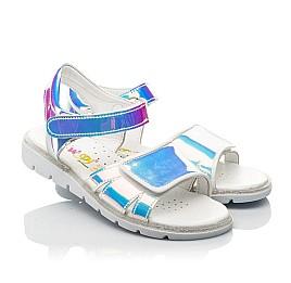 Детские босоножки Woopy Fashion серебряные для девочек современный искусственный материал размер 25-36 (8211) Фото 1