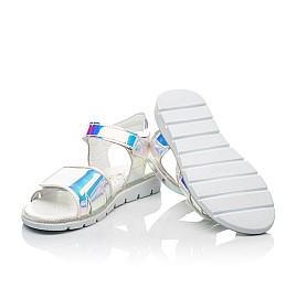Детские босоножки Woopy Fashion серебряные для девочек современный искусственный материал размер 25-36 (8211) Фото 2