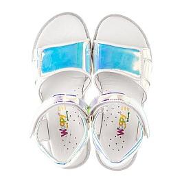Детские босоножки Woopy Fashion серебряные для девочек современный искусственный материал размер 25-36 (8211) Фото 5