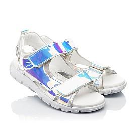 Детские босоножки Woopy Fashion серебряные для девочек современный искусственный материал размер 26-37 (8221) Фото 1