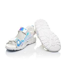 Детские босоножки Woopy Fashion серебряные для девочек современный искусственный материал размер 26-37 (8221) Фото 2