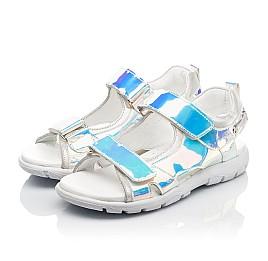 Детские босоножки Woopy Fashion серебряные для девочек современный искусственный материал размер 26-37 (8221) Фото 3