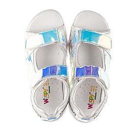 Детские босоножки Woopy Fashion серебряные для девочек современный искусственный материал размер 26-37 (8221) Фото 5
