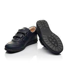 Детские туфли Woopy Fashion синие для мальчиков натуральная кожа размер 31-36 (8246) Фото 2