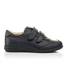 Детские туфли Woopy Fashion синие для мальчиков натуральная кожа размер 31-36 (8246) Фото 4
