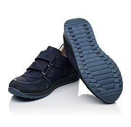 Детские кроссовки Woopy Fashion синие для мальчиков натуральный нубук размер 30-40 (8256) Фото 2