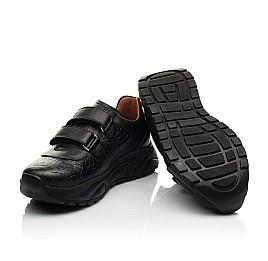 Детские кроссовки Woopy Fashion черные для девочек натуральная кожа размер 28-40 (8258) Фото 2