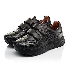 Детские кроссовки Woopy Fashion черные для девочек натуральная кожа размер 28-40 (8258) Фото 3