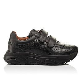 Детские кроссовки Woopy Fashion черные для девочек натуральная кожа размер 28-40 (8258) Фото 4