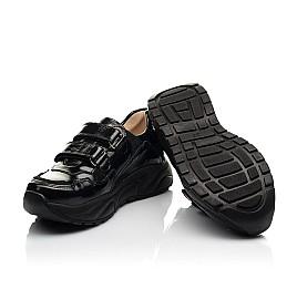 Детские кроссовки Woopy Fashion черные для девочек натуральная лаковая кожа размер 28-40 (8267) Фото 2