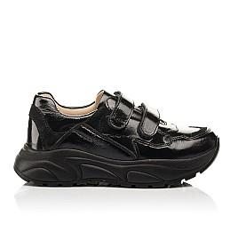 Детские кроссовки Woopy Fashion черные для девочек натуральная лаковая кожа размер 28-40 (8267) Фото 4