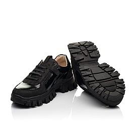 Детские кроссовки Woopy Fashion черные для девочек натуральный нубук размер 31-40 (8273) Фото 2