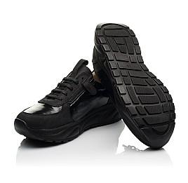 Детские кроссовки Woopy Fashion черные для девочек натуральный нубук размер 31-40 (8273) Фото 3